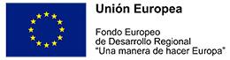 Logotipo de la Unión Europea Fondo Europeo de Desarrollo Regional Una Manera de hacer europa
