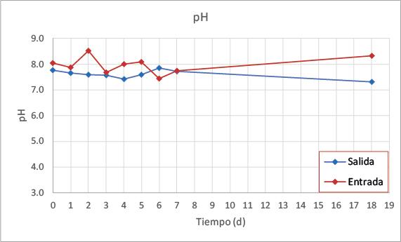 Gráfico pH